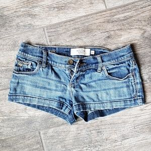 Abercrombie & Fitch Denim Jean Shorts 00